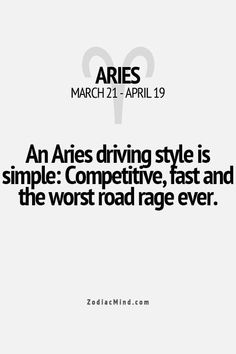 That's not entirely true...super cautious, but I do have the worst case of road rage ever...it's not my fault stupid people don't know how to drive lol