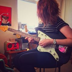 New guitar day! FSR Fender Jazzmaster! #ngd #jazzmaster #fender #fenderlefty