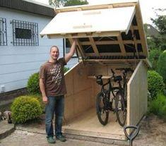 Hydraulische fietsen opbergbox
