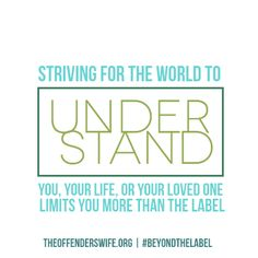 No more limiting ourselves. #BeyondTheLabel