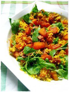 Culinaricum: Sütőtökös-kuszkuszos-rukkolás saláta