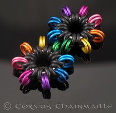 #Rainbow Nova units #chainmaille