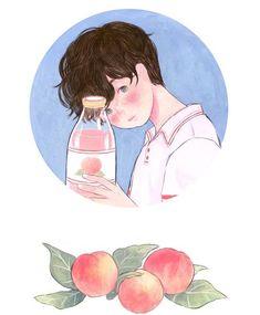 Character Art, Korean Art, Cute Art, Art, Cute Drawings, Boy Art, Aesthetic Anime, Cartoon Art, Aesthetic Art