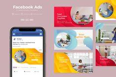 AFR - Facebook Ads Template AI, EPS, PSD Facebook Ad Template, Facebook Banner, Instagram Story Template, Instagram Templates, Banner Design, Creative Design, Social Media, Ads, Design Templates