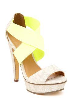 Tamms Platform Sandal