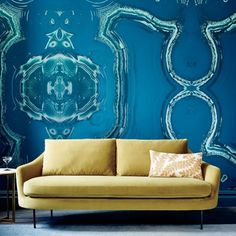 Create the perfect renter's paradise with these 10 Trendy Removable Wallpapers. | HGTV