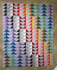 PDF Pattern Im Flying Modern Quilt Pattern from Quilts by Elena via Etsy