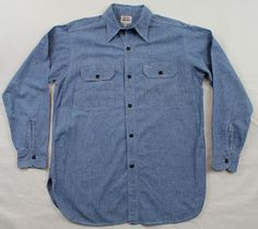 vintage workwear: Work Shirt