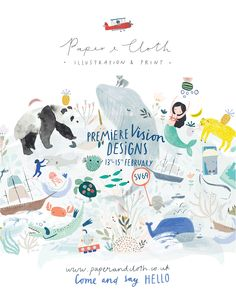 It's show time again and we're diving head first into the Paper & Cloth world, this time at Premiere Vision Designs in Paris. We'...