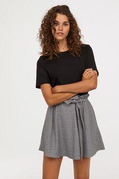 09805c19fbb Circle Skirt - Gray checked - Ladies