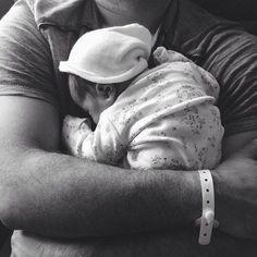 Rare Baby Boy Names 2015 #bw #dad #cute #family #hug #parenting #love #sleep