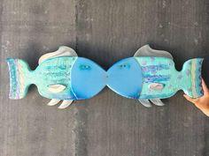 Gabe Heusso – Oh La La Fish Wall Sculpture #Fish #FishWallSculpture #WallHanging #WallSculpture