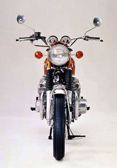 September 1970: Honda CB750 Fore