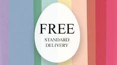 FREE Easter Delivery when you spend £30