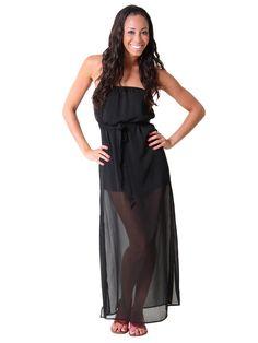 Side Slit #Chiffon #Maxi #Dress
