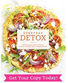 The Secret To Perfect Cauliflower Pizza Crust | Detoxinista