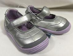 Surprize By Stride Rite Mary Jane Shoes Toddler Girls Memory Foam Purple Silver #SurprizebyStrideRite #MaryJanes
