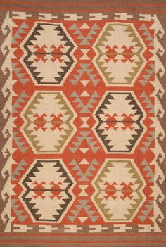 Rugs USA Tuscan Outdoor Flatwoven VS155 Multi Rug