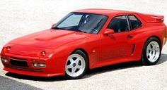 Strosek 944 Turbo, A modified Porsche 944 with projector headlamps and the rear glass hatch replaced by a flying-buttressed rear deck and spoiler. Vittorio Strosek had worked with Luigi Colani. Flying Buttress, Colani, Porsche 924, Deck, Front Porches, Decks, Decoration