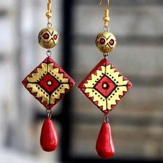 Teracotta jewellery making classes taken - Palakkad