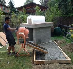 BrickWood Ovens - The Castillo Family Wood Fired Brick Pizza Oven & La Caja Style Pig Roasting Box