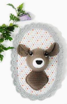Trophée biche crochet