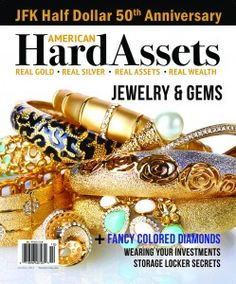 The current issue of American Hard Assets Magazine.