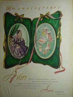 Avon Cosmetics 64th anniversary (1950)