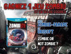 CONCOURS ZombiU NOW ! #zombie #wiiU #zombiU