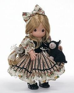 Precious Moments Ba Ba Black Sheep Precious Moments Dolls, Bride Dolls, Sweet Lady, Black Sheep, Cute Dolls, Fashion Dolls, Sculptures, Plush, In This Moment