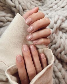 My perfect manicure from 😍❤️ for . - - # # for the perfect manicure # # # from my Nude Nails, Manicure And Pedicure, Glitter Nails, Natural Manicure, Natural Nail Polish, Hair And Nails, My Nails, Clean Nails, Short Nails