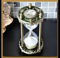 Green Bronze Hourglass Set Timer Medieval Home Decor Handmade Gift For Her/Him Vintage Antique Metal Zippo Armor, Medieval Home Decor, Hourglass Sand Timer, Sand Timers, Handmade Gifts For Her, Magical Jewelry, Home Gadgets, Silver Dragon, Silver Gifts