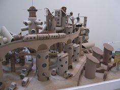 cardboard city, artist unknown