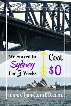 Great way to save money while travelling, especially in Sydney!