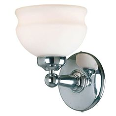 Bathroom Vanity Lights With Pull Chain pull chain switch chrome finish wall sconce with white globe shade