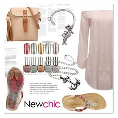 """""""NewChic"""" by ilona-828 ❤ liked on Polyvore featuring chic, New, newchic and plus size dresses"""