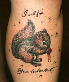 Squirrel will fix your broken heart