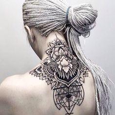 Dotwork tattoo art