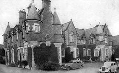 Tour Scotland Photographs: Old Photograph Peel House Scotland