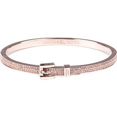 Michael Kors Buckle Pave Bangle My Birthstone Jewelry Boards Accessories Birthstones