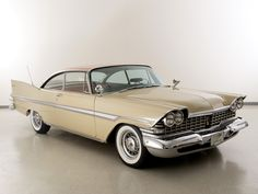 1959 Plymouth Fury Mine was two tone grey. Had a 383 and a push button automatic