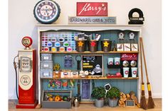 Adore this little hardware store play area