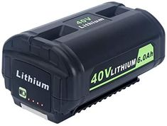 Amazon.com: Lasica OP4050A 40V 6000mAh Lithium Battery for Ryobi 40-Volt Collection Cordless Power Tools Li-ion Battery OP4040 OP4026A OP40201 OP40261 OP4030 OP40301 OP40401 OP40601 OP40501 Ryobi 40 Volt Battery: Home Audio & Theater Lithium Battery Charger, Cold Press Juicer, Cordless Power Tools, Stainless Steel Bbq, Portable Generator, Lawn Care, Wedding Supplies, Theater, Audio