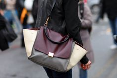 Satchi Authentic Bags: Handbags and the history behind them: Celine Trapeze