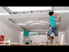 Amazing Techniques Construction Plaster Ceiling Living Room - Building House, Step By Step Drawing Room Ceiling Design, Plaster Ceiling Design, Ceiling Design Living Room, Bedroom False Ceiling Design, False Ceiling Living Room, Home Ceiling, Modern Ceiling, Ceiling Decor, Living Room Designs