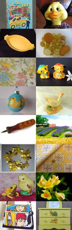 THE TAXI THAT HURRIED.................Gratitude Treasury by Pat Peters on Etsy--Pinned with TreasuryPin.com #Etsyvintage #Estyhandmade #springgifts