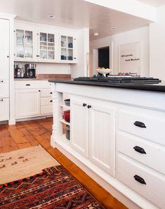 """""""Bright, open, fresh and clean."""" Grace Bonney of Design*Sponge describes her perfect kitchen color, Ralph Lauren Paint's Tibetan Jasmine"""