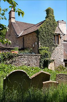 Cottage by the Churchyard, Wiltshire, England