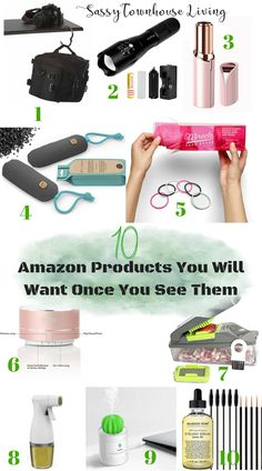 10 Amazon Products You Will Want Once You See Them - Sassy Townhouse Living #shopping #amazon #giftideas #giftguides #amazondeals