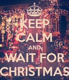 Imagem através do We Heart It #christmas #wait #xmas #keepcalmand #weihnachten